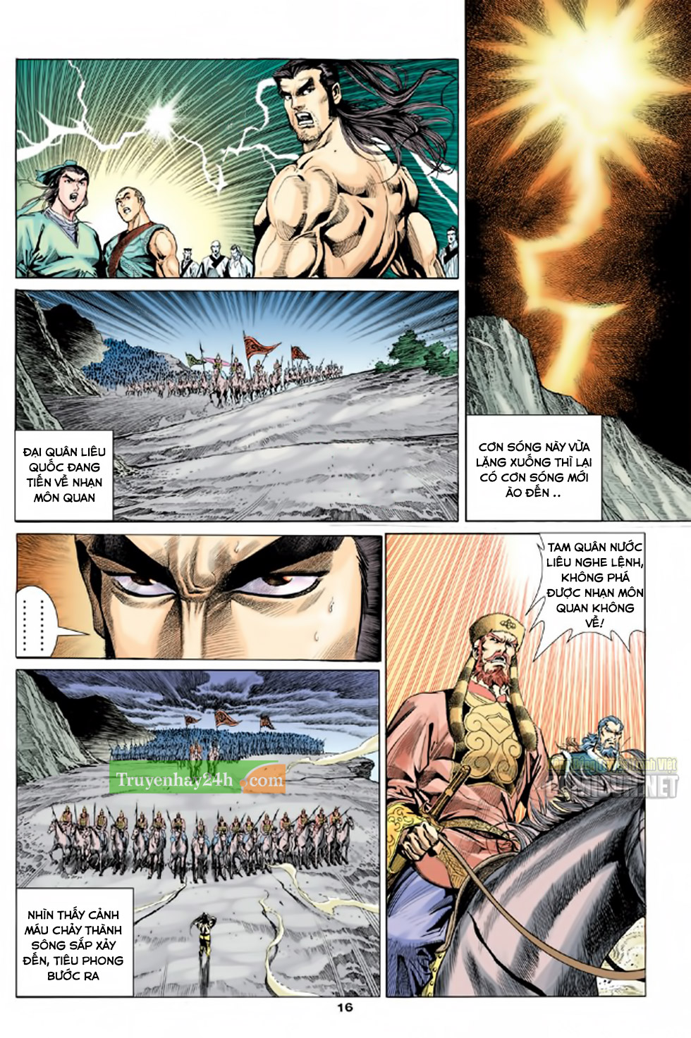 Thiên Long Bát Bộ chap 100 – End Trang 17 - Mangak.info
