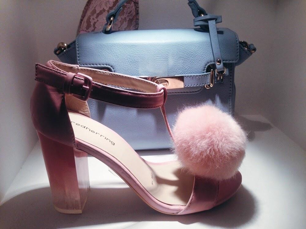 debenhams ss15 press day pom pom shoes fluffy sandals