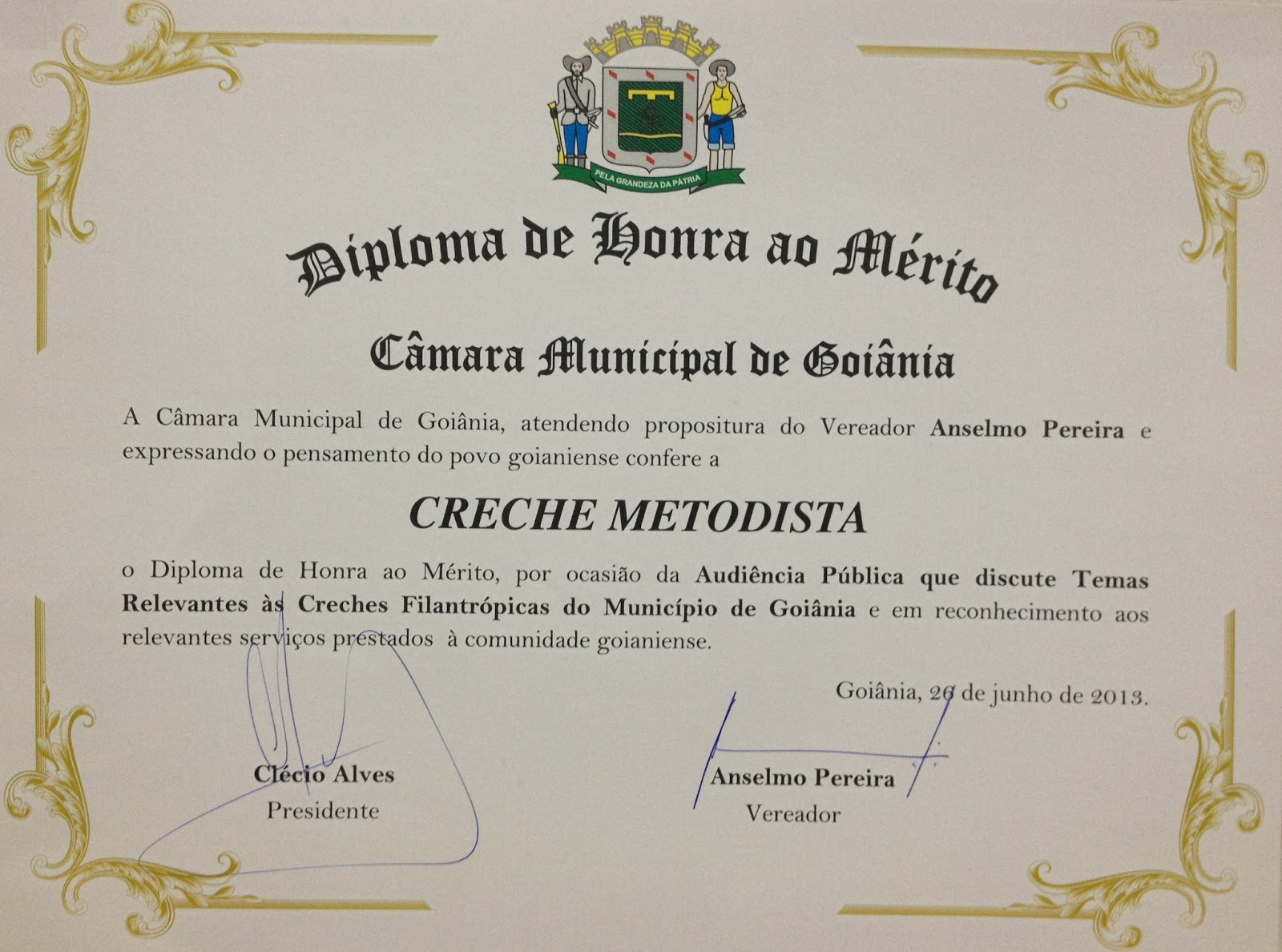 Diploma estado e de gestao municipal