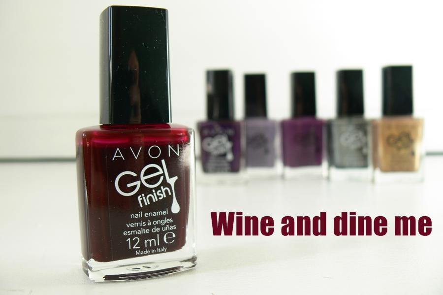 AVON GELfinisz Wine and dine me opakowanie