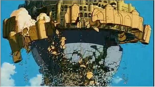 天空の城ラピュタ 崩れ行く