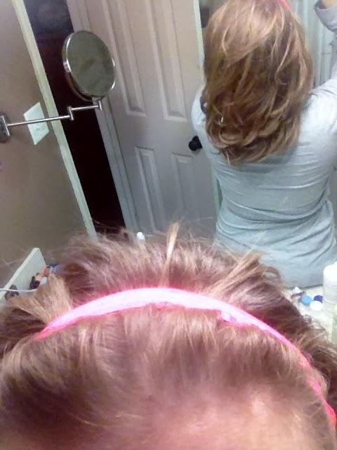 Curled Hair DIY
