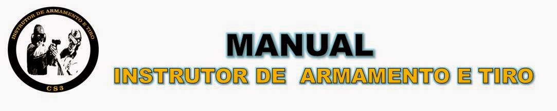 Manual do instrutor de armamento e tiro