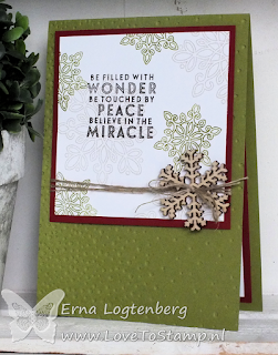 stampinup lovetostamp snowfall embossinfolder flurry of wishes