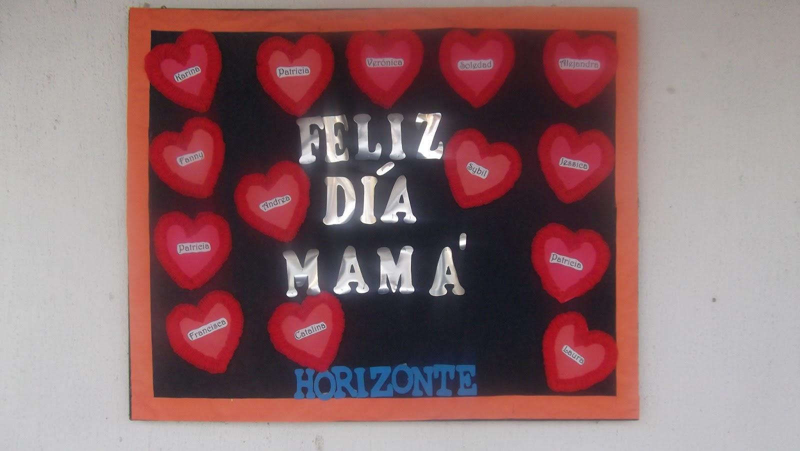 Horizonte centro educacional y terap utico d a de la for Decoracion para el dia de la madre