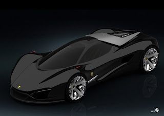my ferrari project was an idea of designing a model that a synthesis of its technological knowledge and its sporting experience - Ferrari 2020 Models