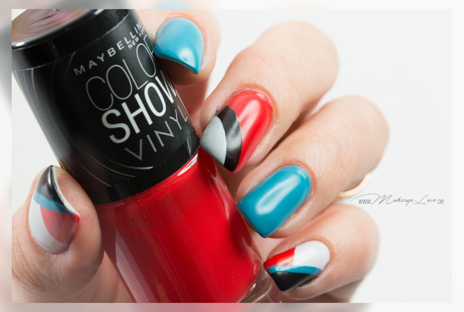 Maybelline coloshow vinyl nagellacke kollektion Naildesign