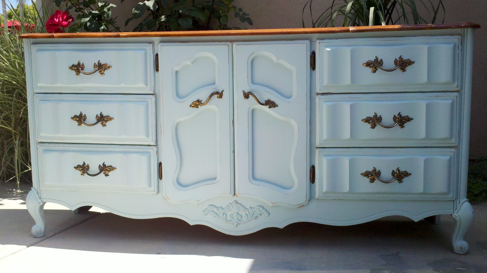 Shabby Chic Blue Dresser Shabby Chic Style Dresser