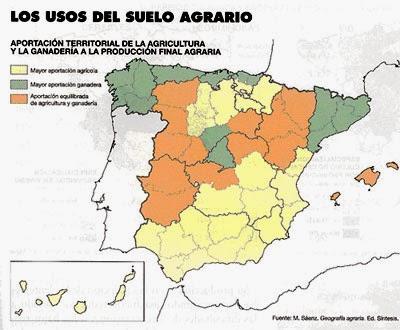 Alicia ciencias sociales alconchel comentario mapa de for 4 usos del suelo en colombia