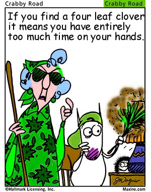 Email Forwards Fun!: Maxine Wishes You A Happy Saint ...