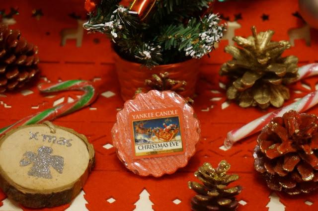 Zapach mijających Świąt - Christmas Eve Yankee Candle