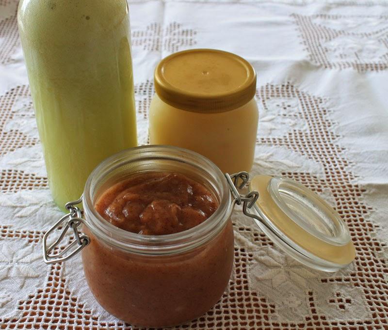 Äppeljuice e äppelmos