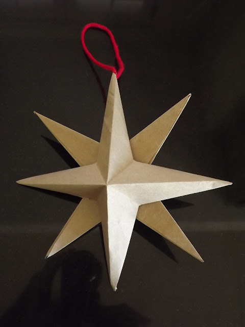 origami winter star, paper star,paper crafts, how to fold a paper star