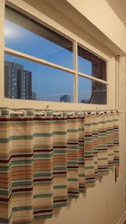 antes e depois janela cortina
