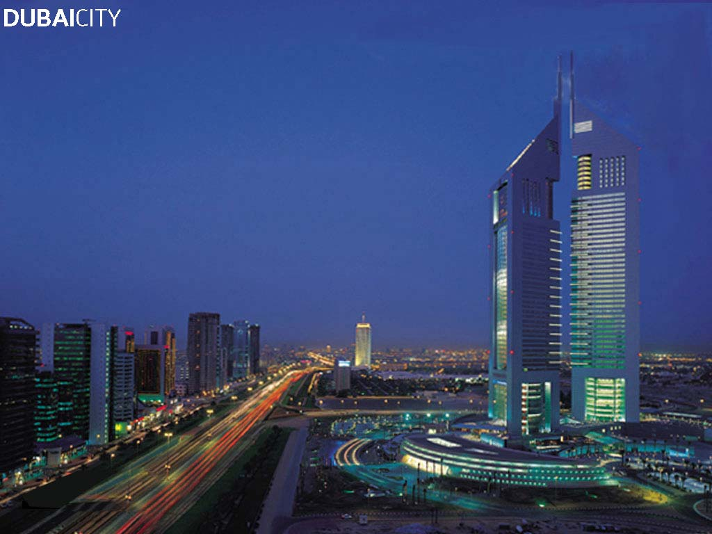 World Visits The Modern Advance City Dubai Wallpaper