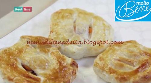 Capesante e carciofi in crosta di sfoglia ricetta Parodi per Molto Bene su Real Time