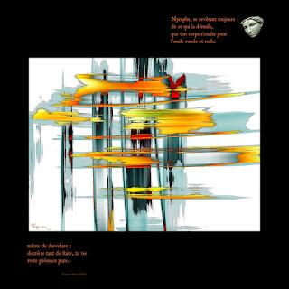 Petite cascade, Les quatrains valaisins - Rainer Maria Rilke