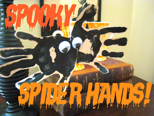 Spooky Spider Hands from Salsa Pie