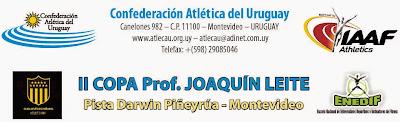 Pista. Copa Prof. Joaquín Leite (org: Peñarol / Enedif - Montevideo, 27-28/sep/2014)