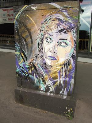 Street Art à Paris : C215 , Vhils , Seth