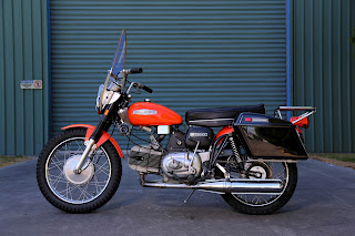 1969 Harley Davidson 250 Sprint