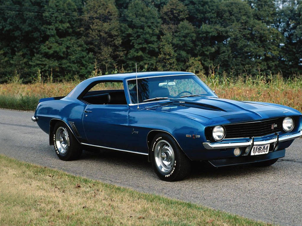 Old Classic American Muscle Cars