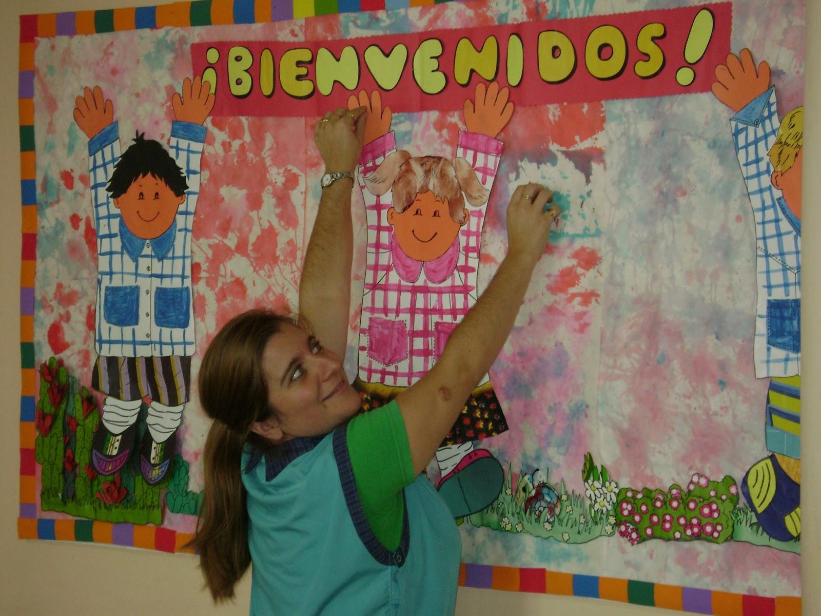 Decoraci n en el jard n de infantes bienvenidos 2011 for Decoracion jardin infantes