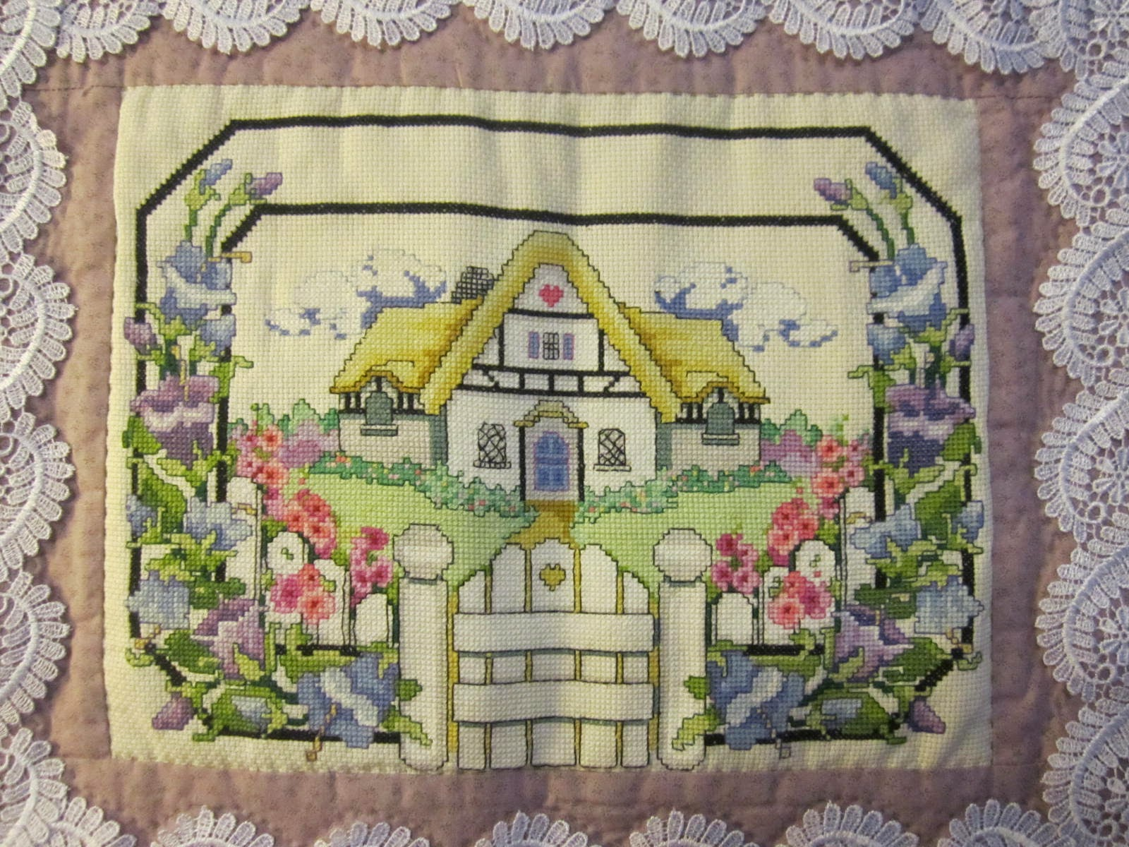 My british house (broderie)