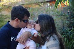 Minha razao,meus amores...minha familia linda que Deus me deu!