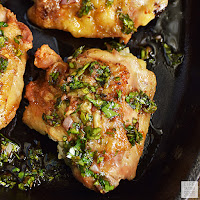 Chimichurri Chicken Thighs   by Life Tastes Good