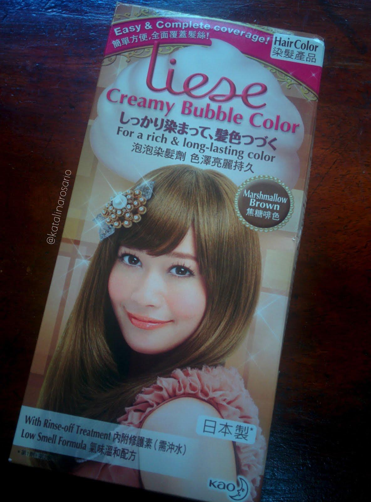 Liese Diy Hair Color As Easy As Shampoo Kaths Journey