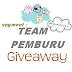 Segment : Team Pemburu Giveaway