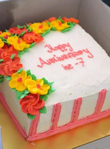 tempahan kek anniversary