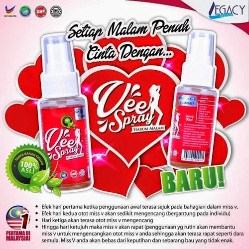 Testimoni Vee Spray produk Harum Malam, Vee Spray murah, kelebihan Vee Spray, cara beli Vee Spray, review Vee Spray, harga Vee Spray, kandungan Vee Spray