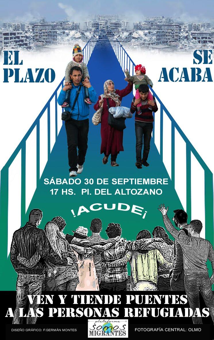 Sábado 30 Septiembre, 17H CONCENTRACIÓN en Sevilla. Plaza del Altozano.