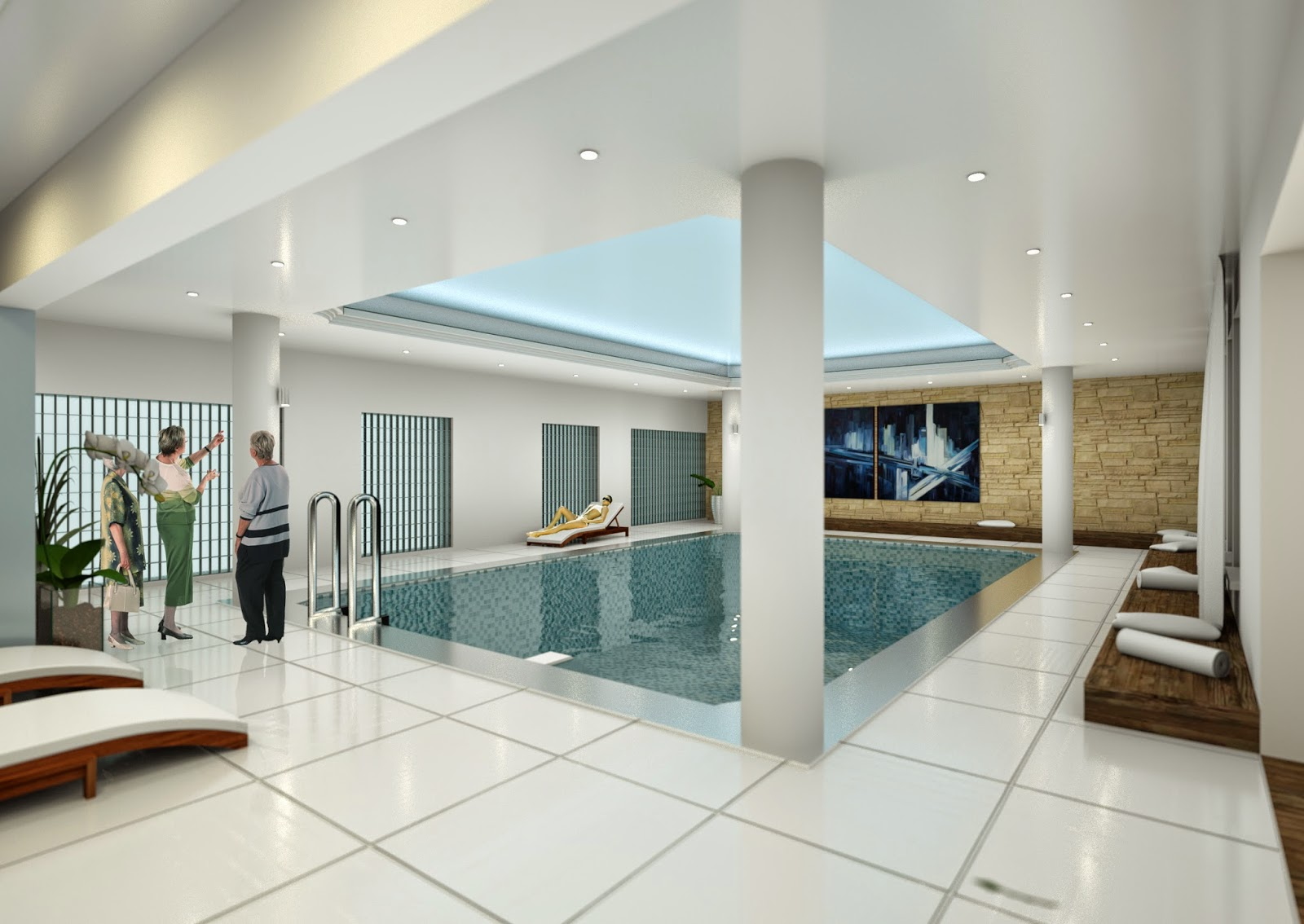 basen w New Skanpol - wizualizacja numer 2