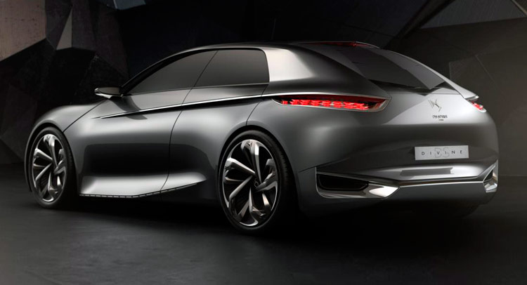 new citroen divine ds concept could lead to a production model. Black Bedroom Furniture Sets. Home Design Ideas