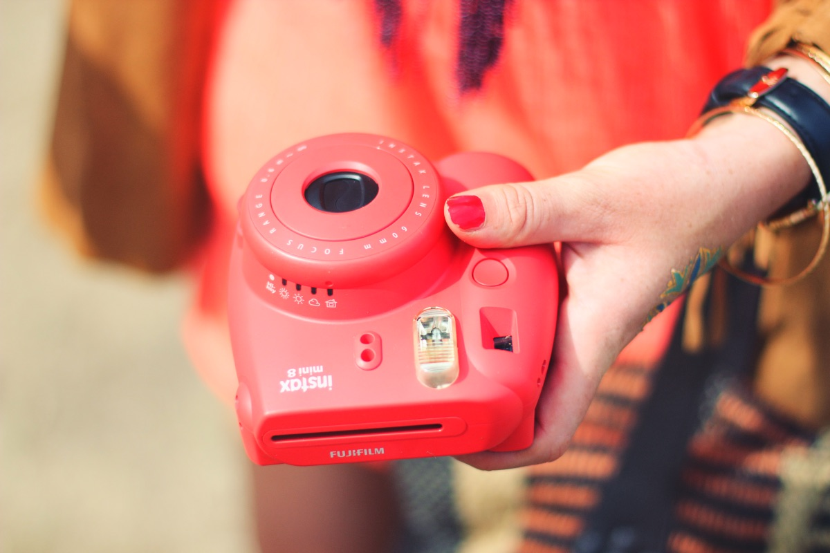 Fujifilm Instax Raspberry Camera