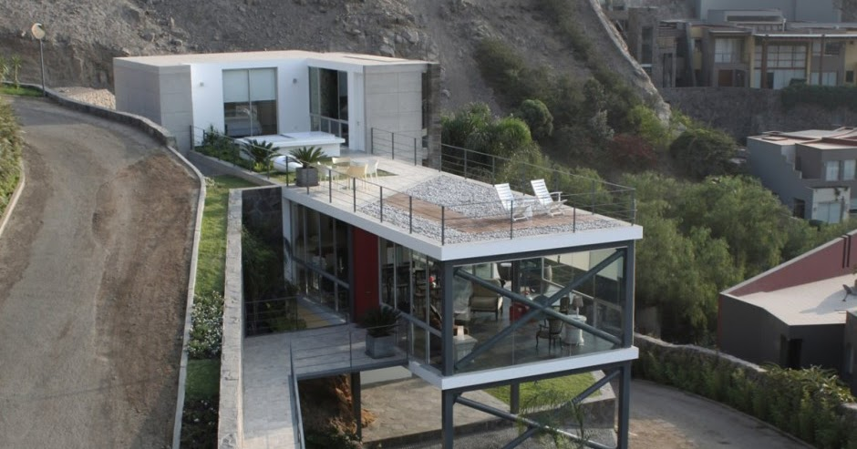 Diseno de casa irregular lima peru design de interiores for Diseno de interiores lima