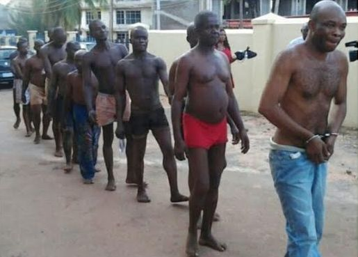 10 Pro-Biafran protesters arraigned in court half naked