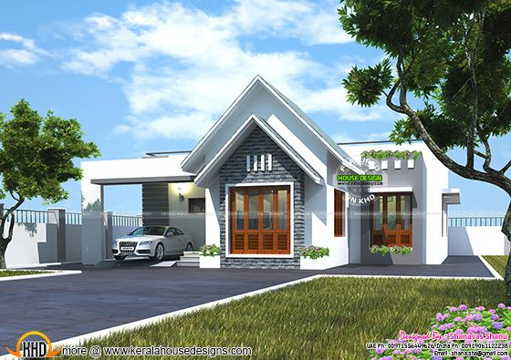 House for common man - Low budget Kerala home