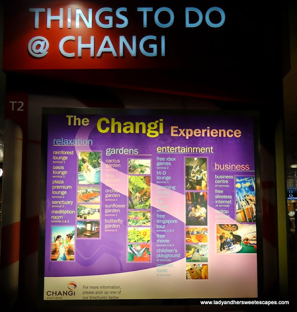 Things to do in Changi Airport Singapore