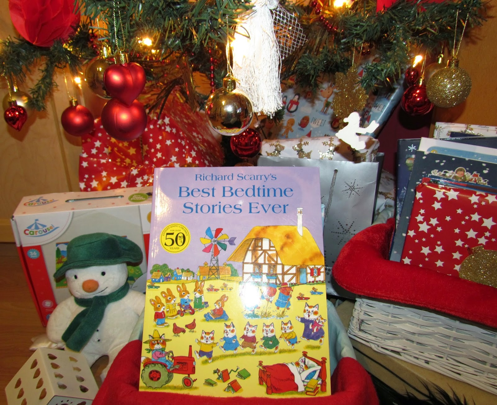 richard scarrys best bedtime stories ever - Christmas Bedtime Stories