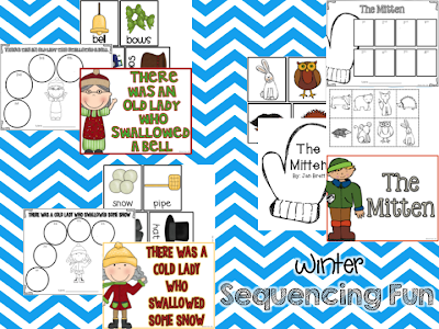 http://www.teacherspayteachers.com/Product/Winter-Sequencing-Fun-Sequencing-Activities-for-3-Winter-Read-Alouds-414888