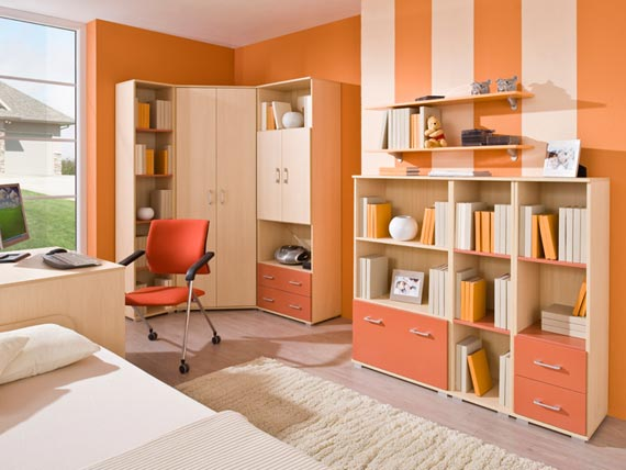 Kids study room furniture designs an interior design - Study room furniture designe ...