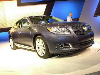 2013 Chevrolet Malibu ECO at the New York Auto Show