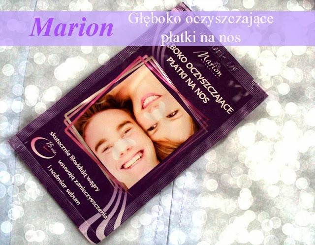 Marion, Głęboko oczyszczające płatki na nos