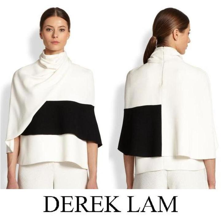 DEREK LAM Wrap Top   - Queen Rania