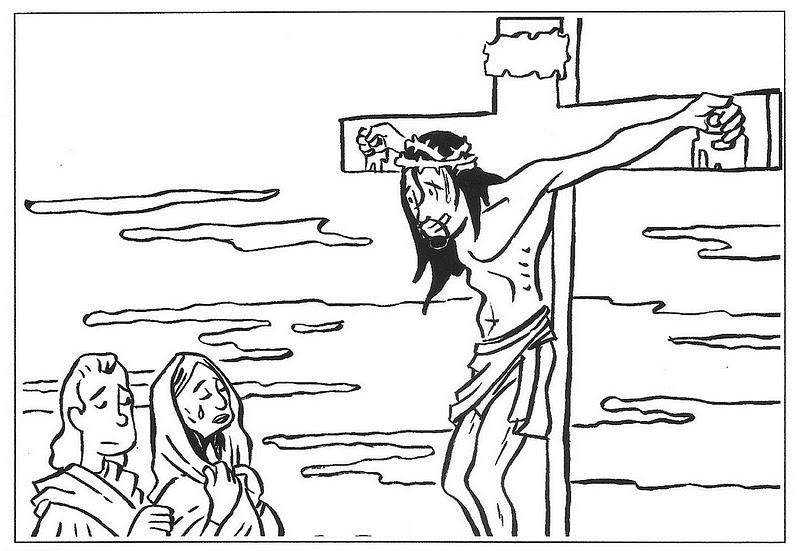 ME ABURRE LA RELIGIN Dibujos para colorear pasin muerte y