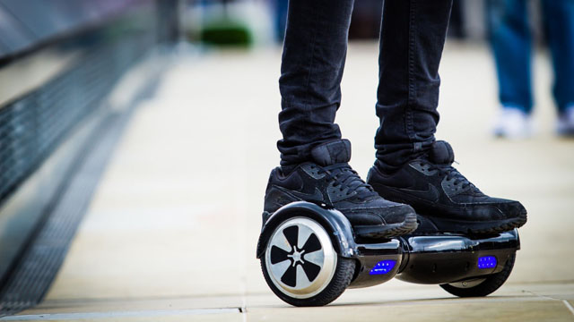 Those cool hoverboards are now banned on major US airlines